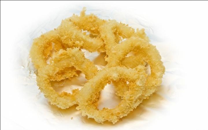 Кольца кальмара темпура