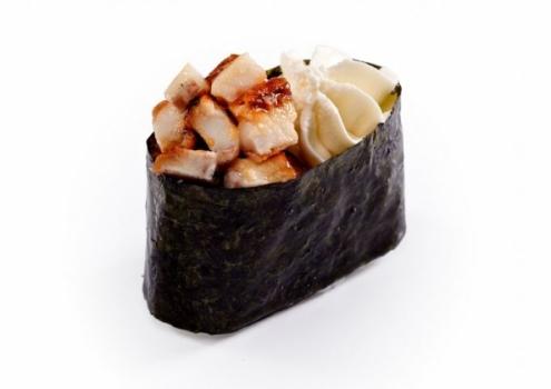 Крем-суши угорь